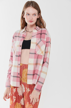 Urban Outfitters Dustin Flannel Button-Down Shirt