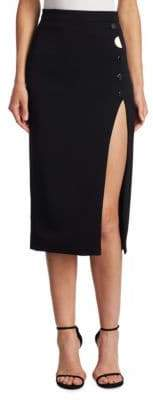 Cushnie et Ochs Dahlia Slit Pencil Skirt
