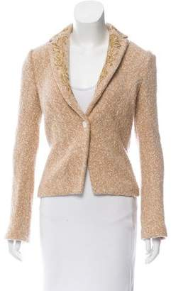 Iisli Embroidered Wool Blazer