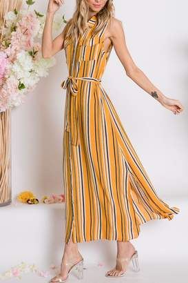 Lyn Maree's Vertical Stripe Maxi