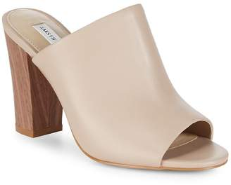 Saks Fifth Avenue Women's Melina Block-Heel Mules
