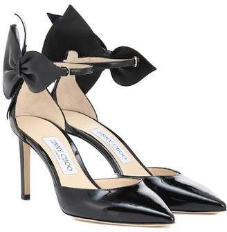 Jimmy Choo Kelley 85 patent leather pumps