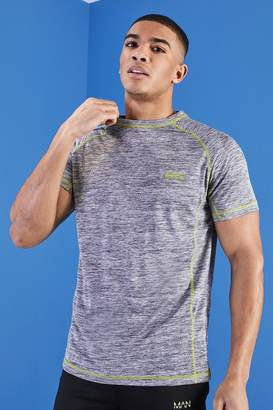 boohoo MAN Muscle Fit Gym T-Shirt