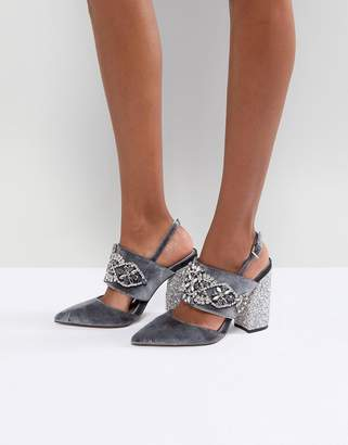 Asos (エイソス) - ASOS PERFECT COMBO Embellished Heels