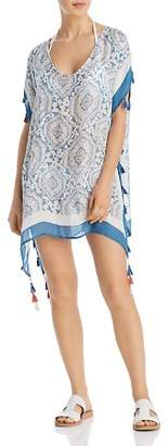 Surf Gypsy Candy Vintage Baroque Print Swim Cover-Up