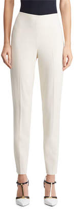 Ralph Lauren Annie Straight-Leg Stretch-Wool Pants