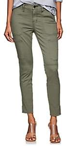 J Brand Women's Cotton-Blend Skinny Utility Pants - Olive