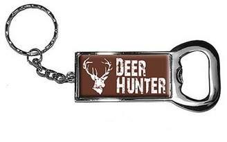 Hunter ONLINE Deer Keychain Key Chain Ring Bottle Bottlecap Opener