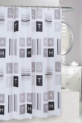 LOFT Moda At Home Multi Shower Curtain