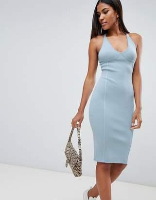 Missguided seam detail dress