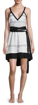 Proenza Schouler Belted Cover-Up Sundress