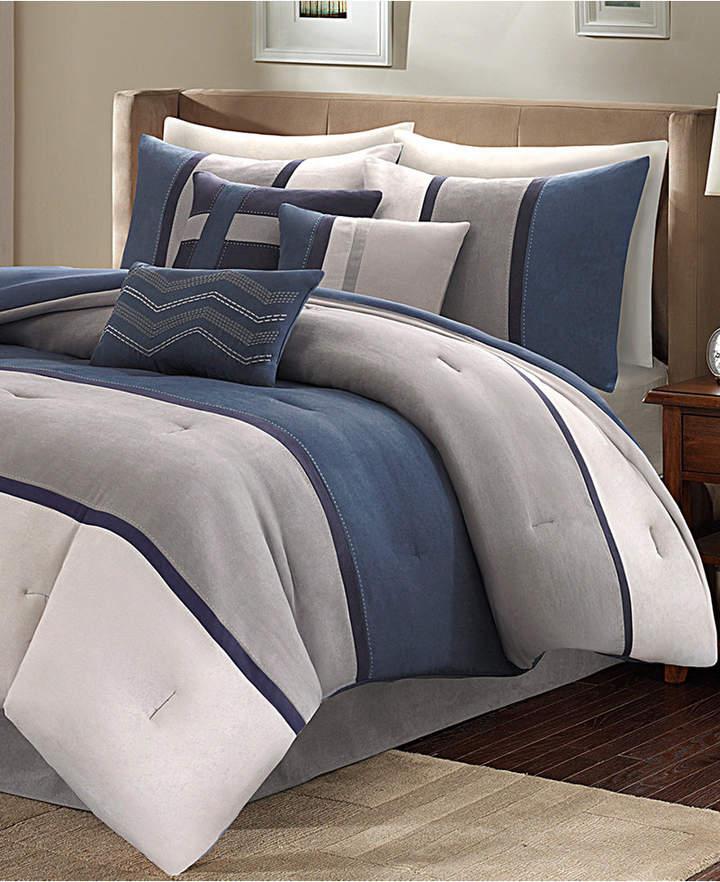 Madison Park Palisades 7-Pc. King Comforter Set Bedding