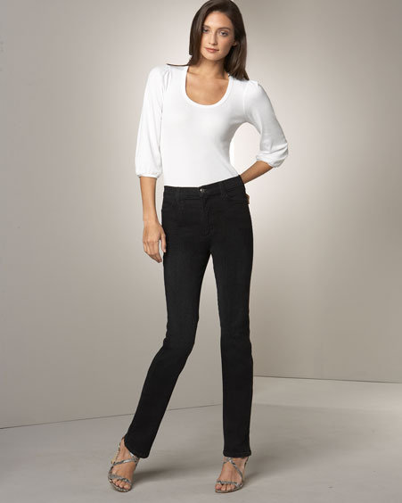 Not Your Daughter's Jeans Bootcut Jeans, Black