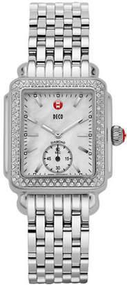 Michele Signature Deco Watch