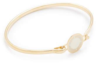 Marc Jacobs Enamel Logo Disc Hinge Bracelet $53 thestylecure.com