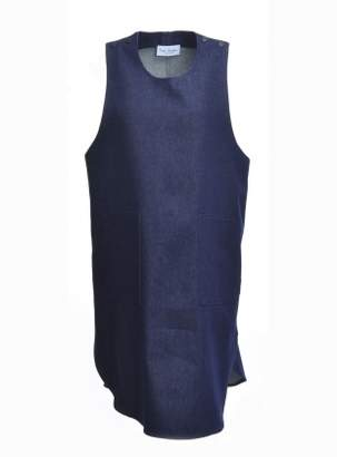 Kate Sheridan Denim Pop Tabard Dress