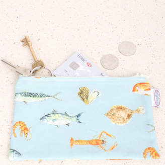 Milly Green Fish Purse