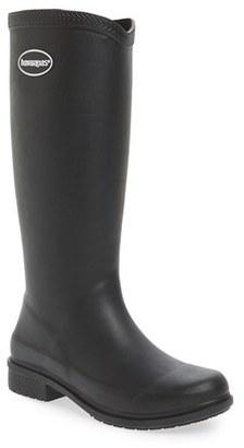 Women's Havaianas 'Galochas Hi Matte' Waterproof Rain Boot $75 thestylecure.com