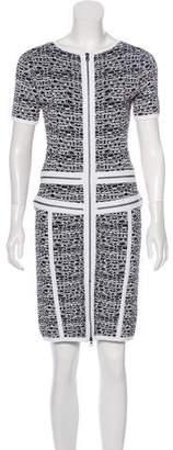 Marchesa Voyage Printed Mini Dress w/ Tags