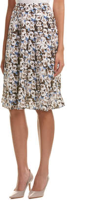 Lafayette 148 New York Nevada Midi Skirt