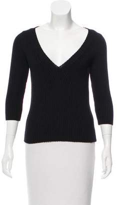 Marc Jacobs Wool V-Neck Sweater