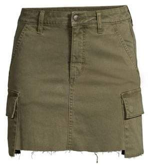 Joe's Jeans Women's Cargo Mini Skirt - Cargo - Size 24 (0)