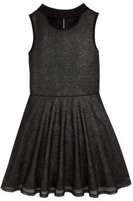 Sally Miller Francesca Sleeveless Mesh Dress w/ Cutout Detail, Size 8-16
