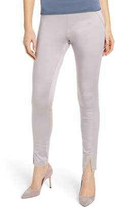 Hue High Waist Sateen Skimmer Leggings