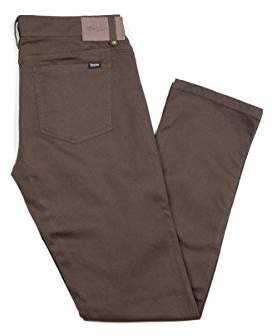 Brixton Men's Reserve Standard Fit 5-Pocket Pants