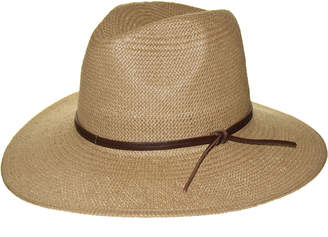 Frye Straw Fedora Weston Hat