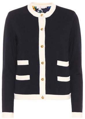 Tory Burch Kenra wool cardigan