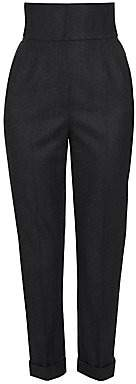 Dolce & Gabbana Women's High-Waist Cuffed Hem Pants