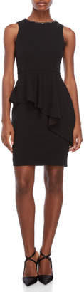 Eliza J Petite Peplum Sheath Dress