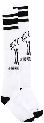 Kokon To Zai logo print socks
