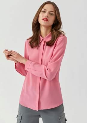 Emporio Armani Silk Crepe De Chine Shirt