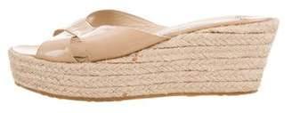 Jimmy Choo Crossover Slide Sandals