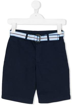 Ralph Lauren Kids belted chino shorts