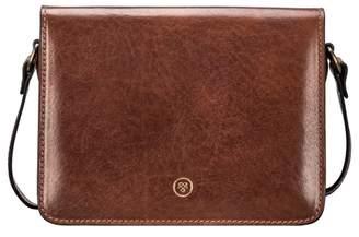 Maxwell Scott Bags Women S Luxury Tan Leather Crossbody Bag