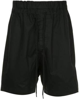 Bassike drawstring fitted shorts