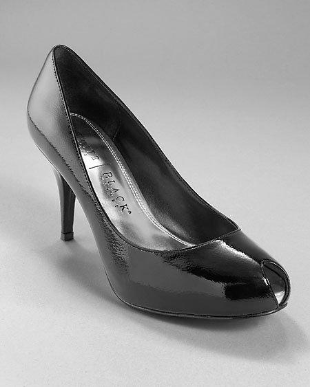 Peeptoe Patent Heel