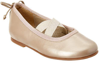 Stuart Weitzman Girls' Leather Ballet Flat
