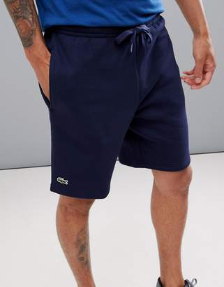 Lacoste Sport fleece shorts in navy suit1