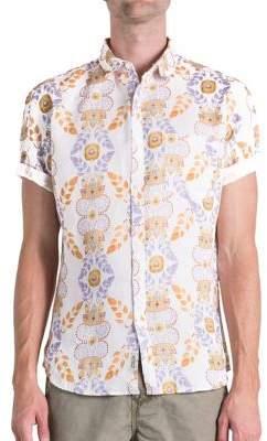 Original Paperbacks Sienna Alice Linen Floral-Print Shirt