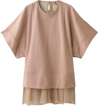N°21 (ヌメロ ヴェントゥーノ) - ヌメロ ヴェントゥーノ バックシアーTシャツ