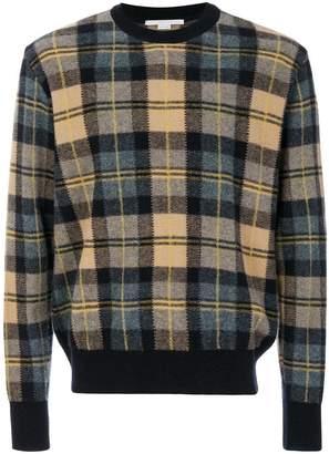 Stella McCartney check sweater