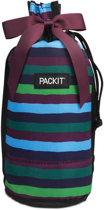 Pack It Jewel Tone Freezable Drawstring Wine Bag, Created for Macy's