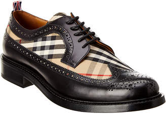 Burberry Arndale Vintage Check & Leather Oxford
