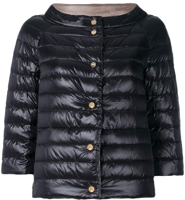 reversible padded jacket