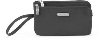 Baggallini Women's RFID Blocking Double Zip Wristlet