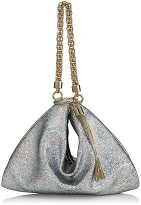 05834c7c43 Jimmy Choo Medium Hologram Leather Callie Clutch Bag